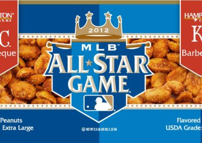 Litho Label for special Baseball All-Star Game
